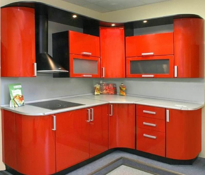 Кухня №11 (МДФ-ПВХ)