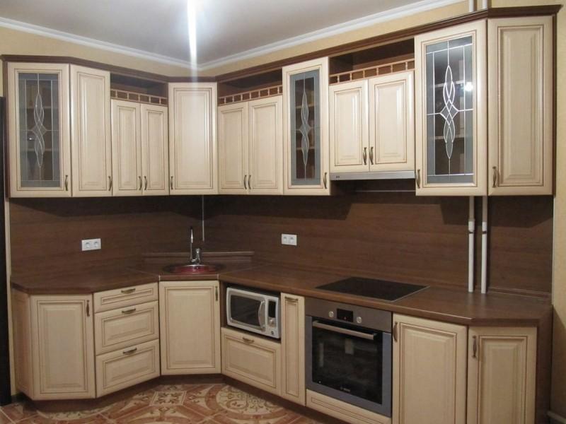 Кухня №12 (МДФ-ПВХ)