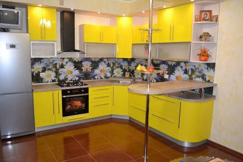 Кухня №7 (пластик постформинг)