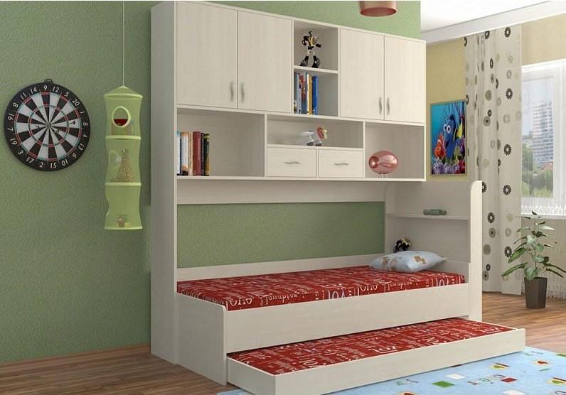 Кровать со стеллажом Венди